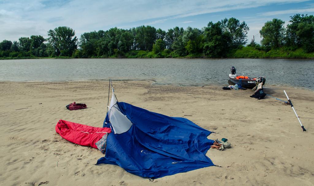 porowany namiot